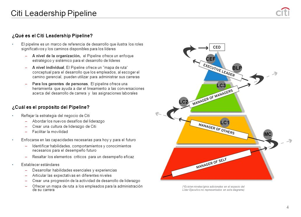 Citi Leadership Pipeline
