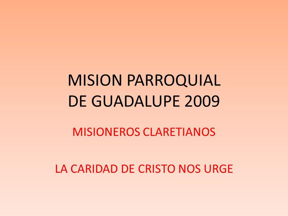 MISION PARROQUIAL DE GUADALUPE 2009