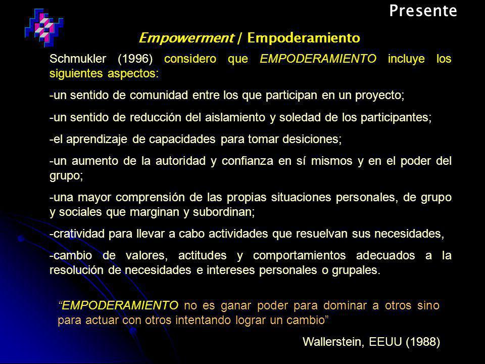 Empowerment / Empoderamiento