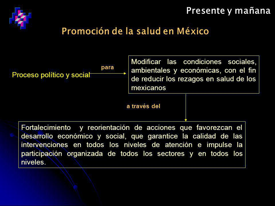 Promoción de la salud en México