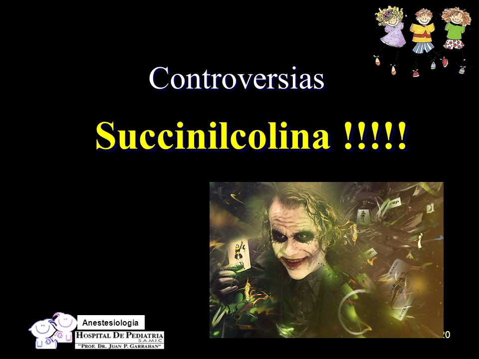 Controversias Succinilcolina !!!!!