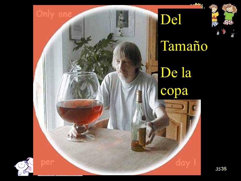 Del Tamaño De la copa Map 35