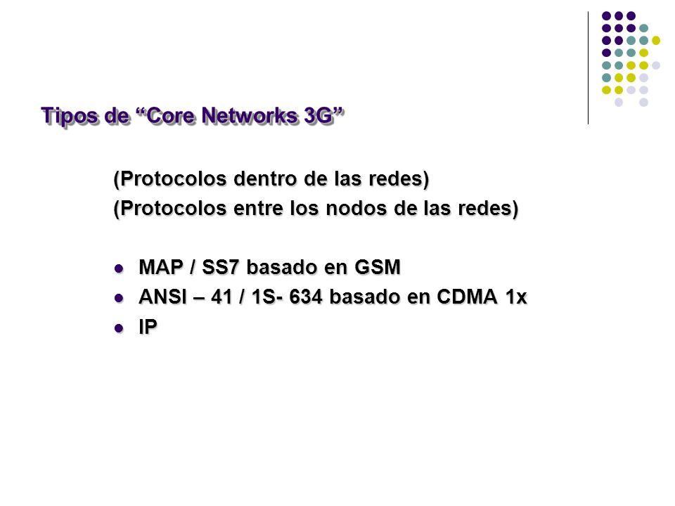 Tipos de Core Networks 3G
