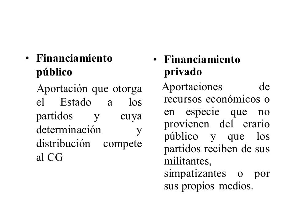 Financiamiento público