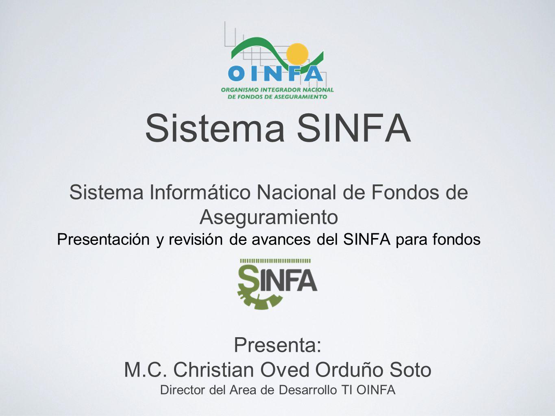 Sistema SINFA Sistema Informático Nacional de Fondos de Aseguramiento
