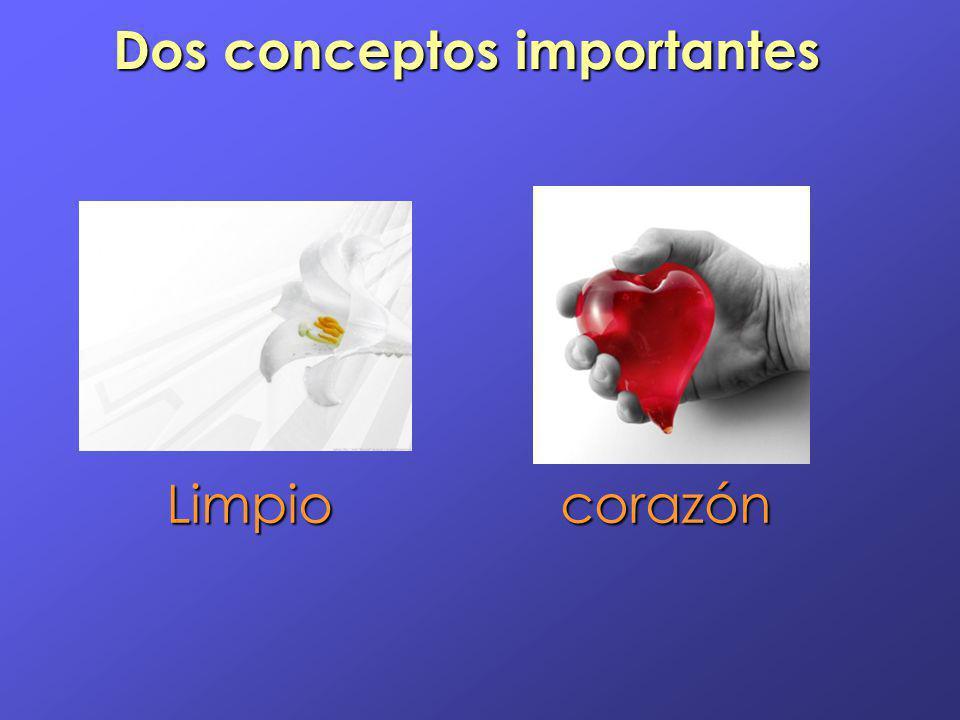 Dos conceptos importantes