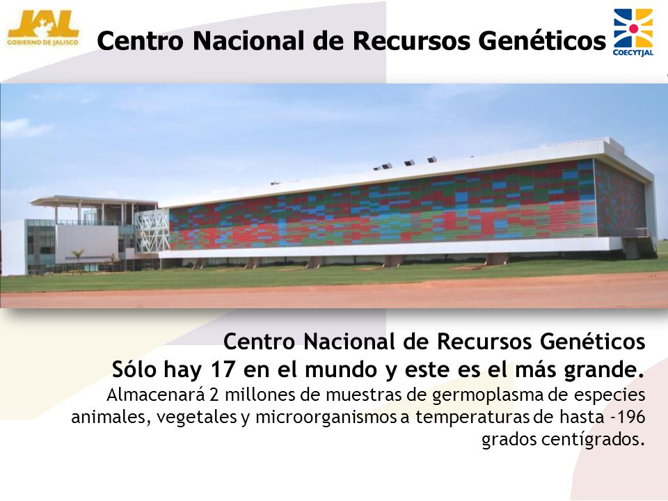 Centro Nacional de Recursos Genéticos