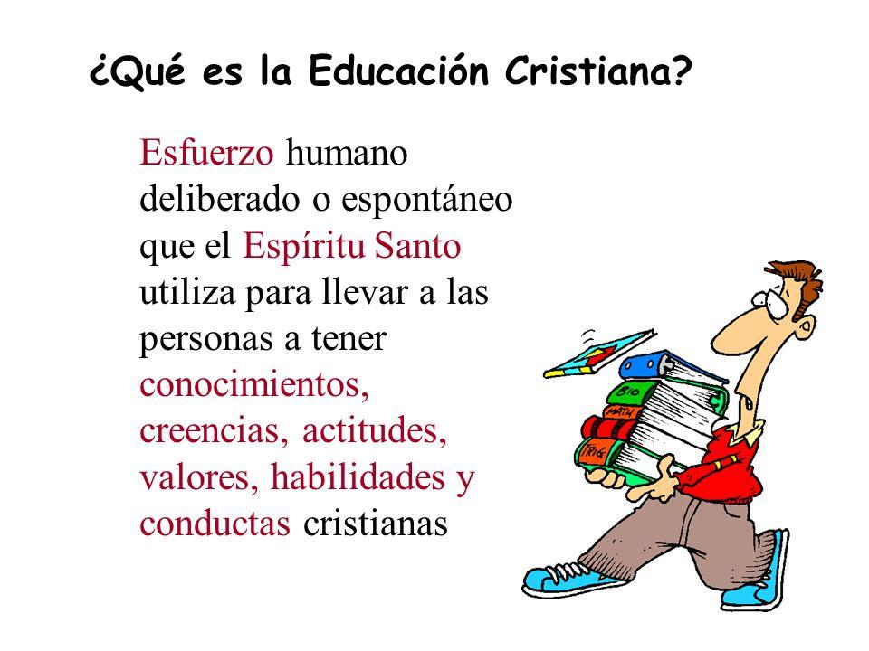 ¿Qué es la Educación Cristiana