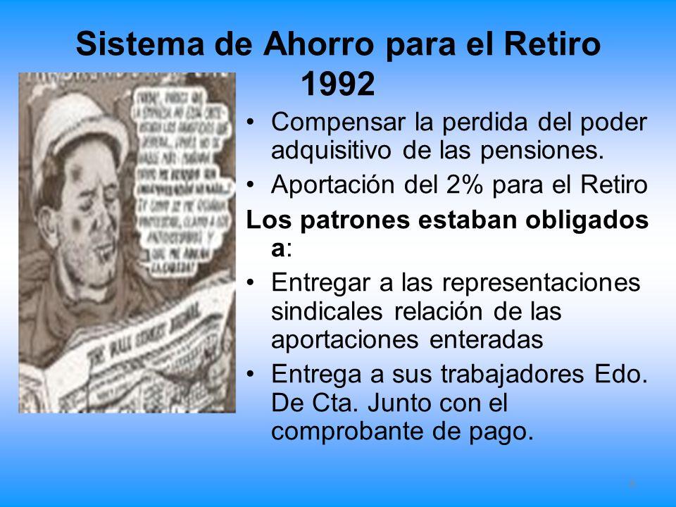 Sistema de Ahorro para el Retiro 1992