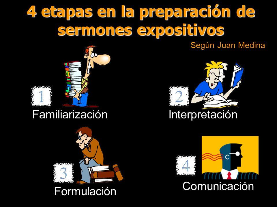 4 etapas en la preparación de sermones expositivos