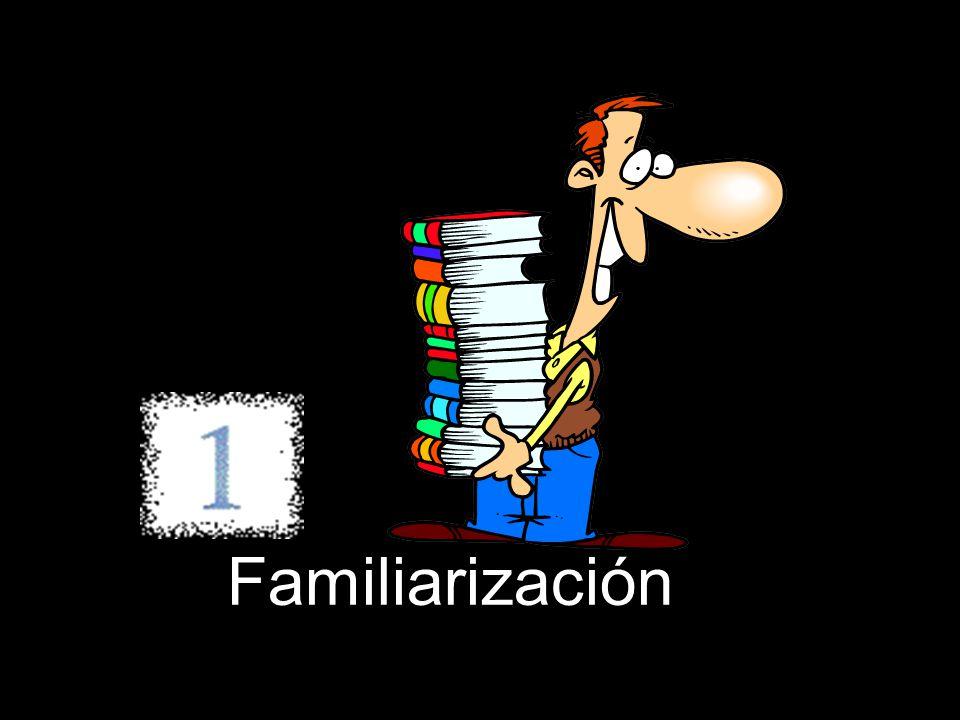 Familiarización