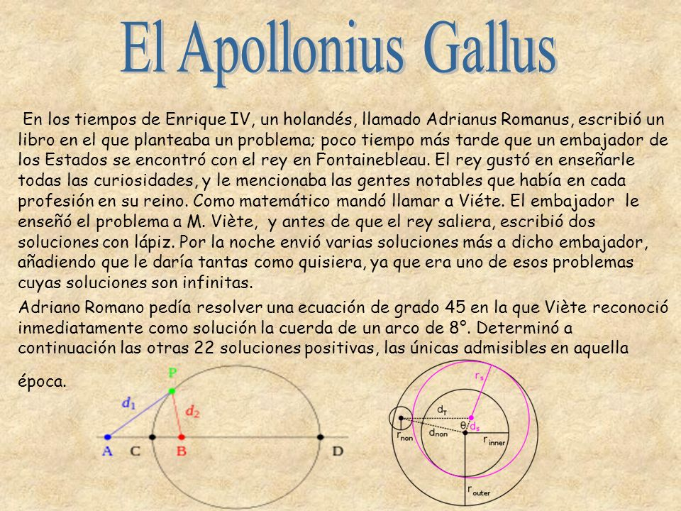 El Apollonius Gallus
