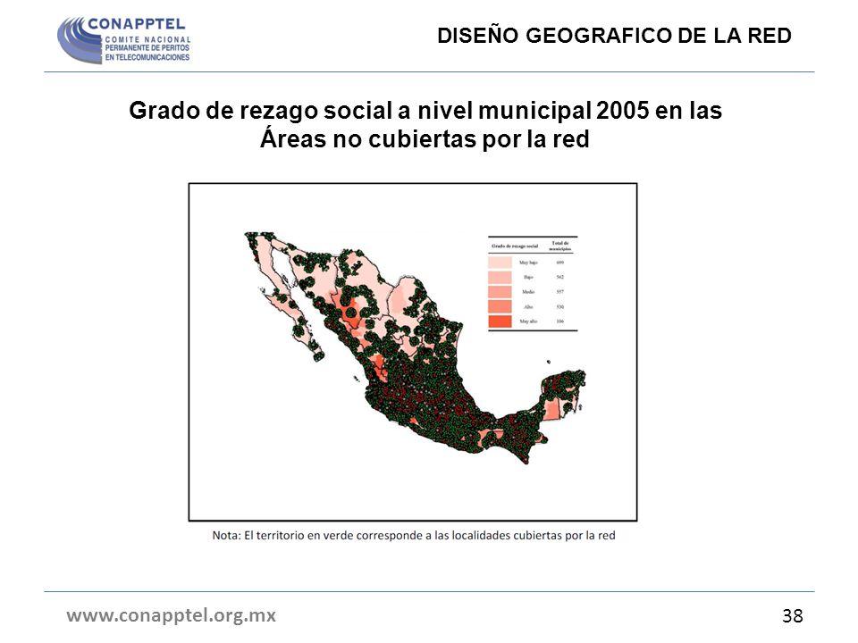 DISEÑO GEOGRAFICO DE LA RED