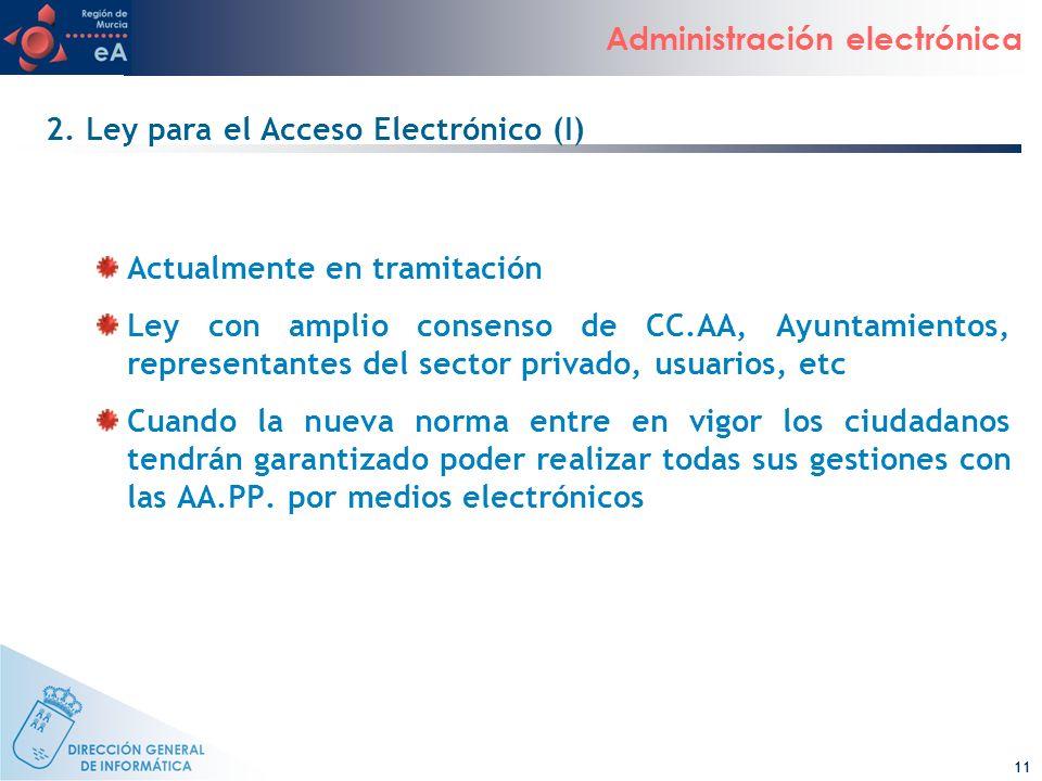 2. Ley para el Acceso Electrónico (I)