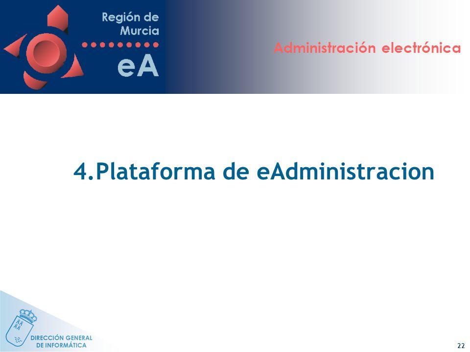 4.Plataforma de eAdministracion