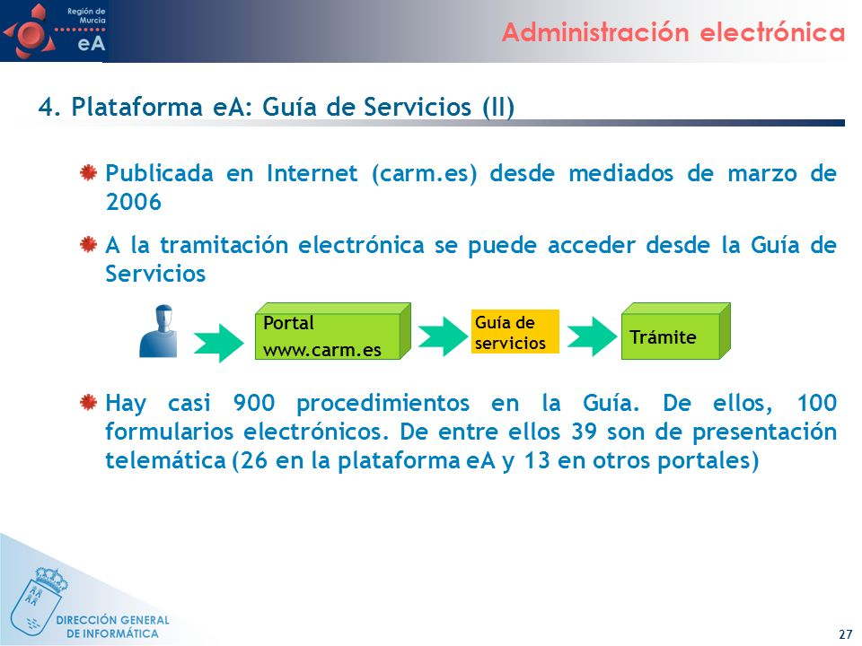 4. Plataforma eA: Guía de Servicios (II)