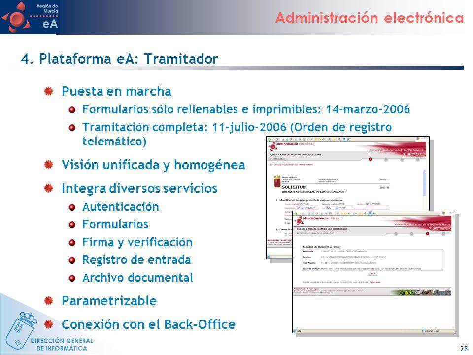 4. Plataforma eA: Tramitador