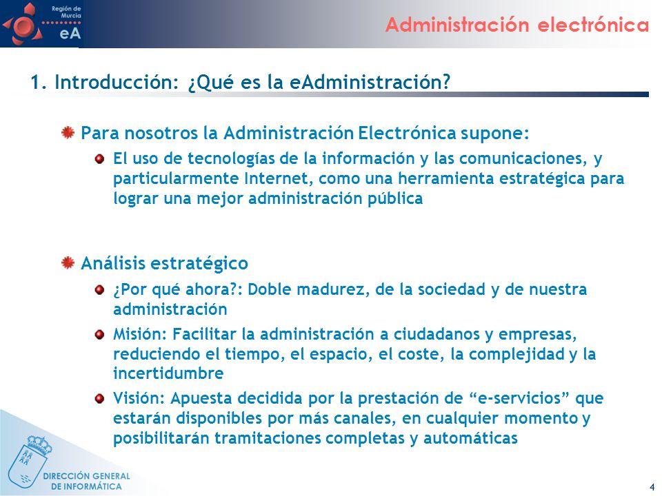 1. Introducción: ¿Qué es la eAdministración