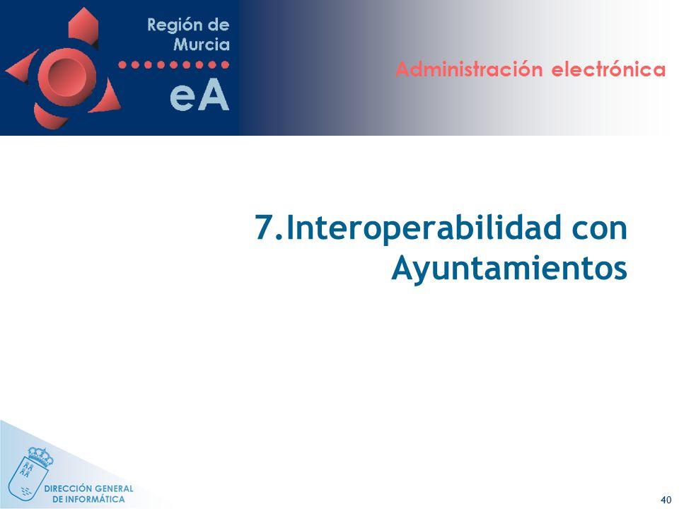 7.Interoperabilidad con Ayuntamientos