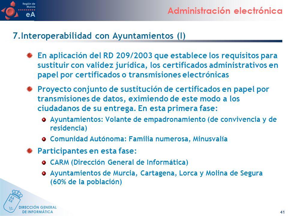 7.Interoperabilidad con Ayuntamientos (I)