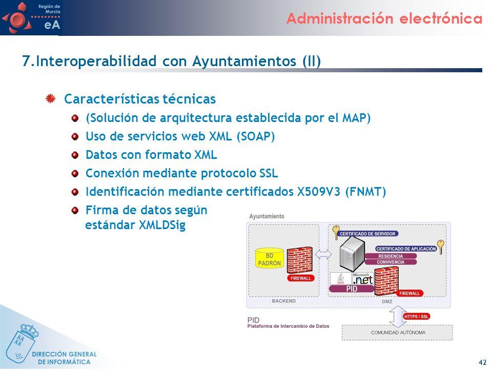 7.Interoperabilidad con Ayuntamientos (II)
