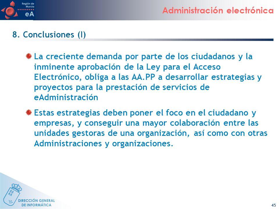 8. Conclusiones (I)
