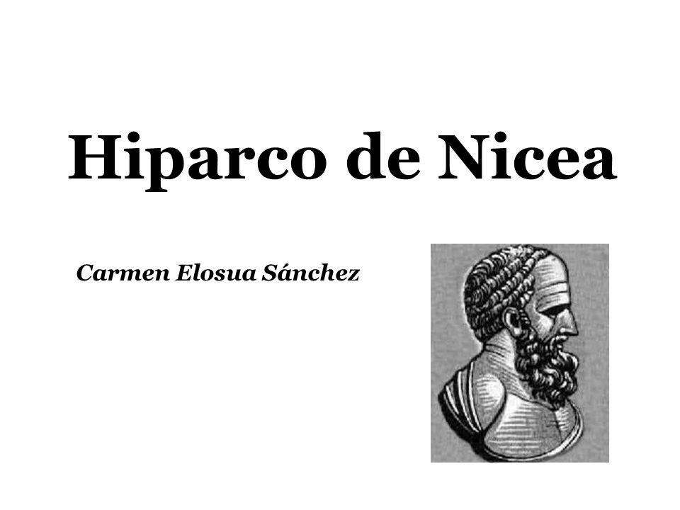 Hiparco de Nicea Carmen Elosua Sánchez