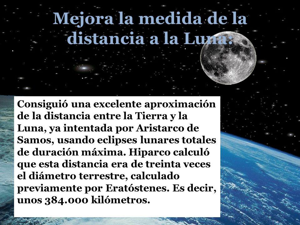 Mejora la medida de la distancia a la Luna:
