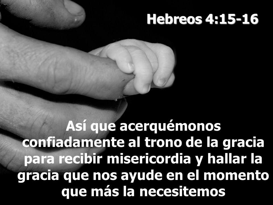Hebreos 4:15-16