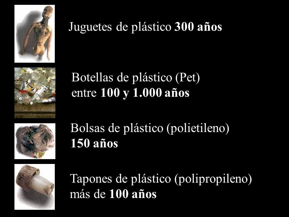 Juguetes de plástico 300 años
