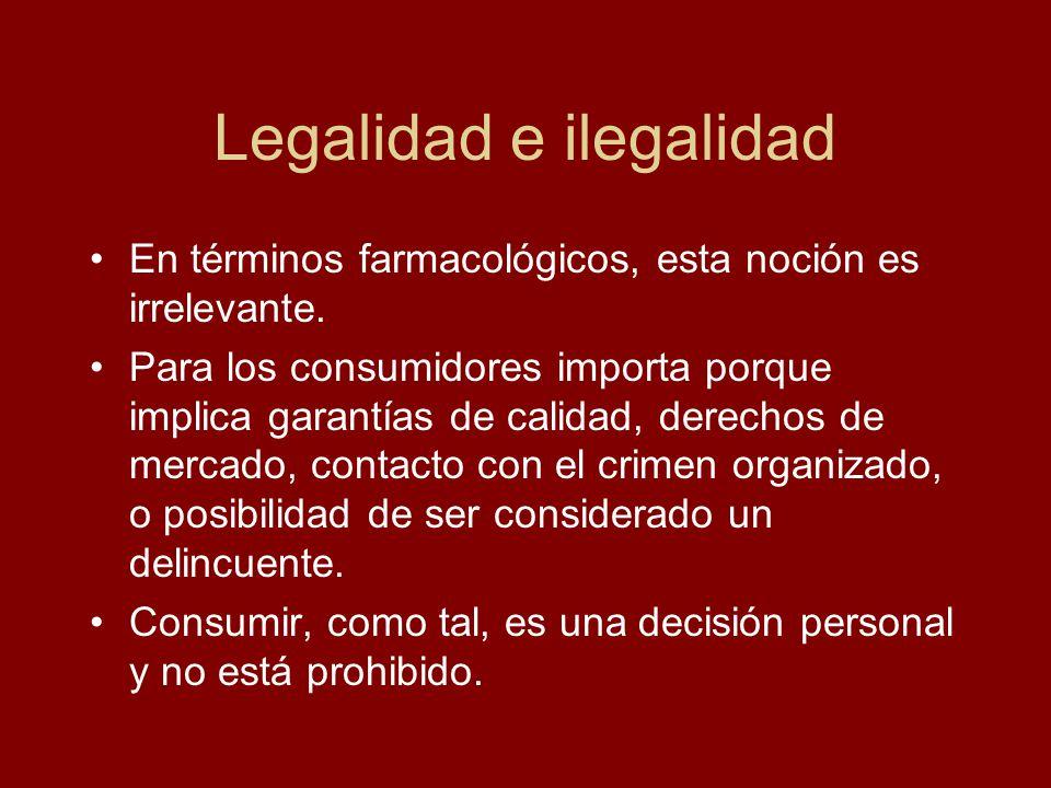 Legalidad e ilegalidad
