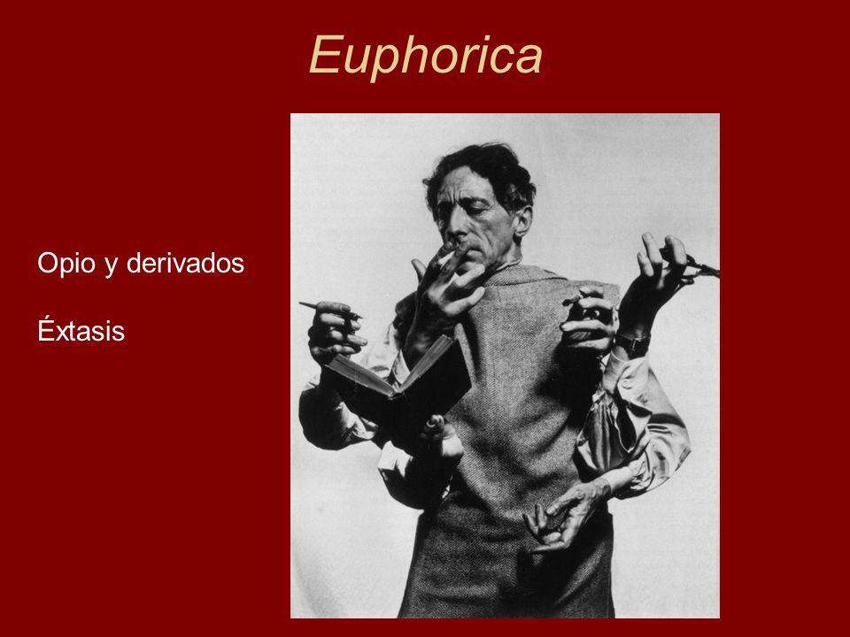 Euphorica Opio y derivados Éxtasis Lewin, 1924