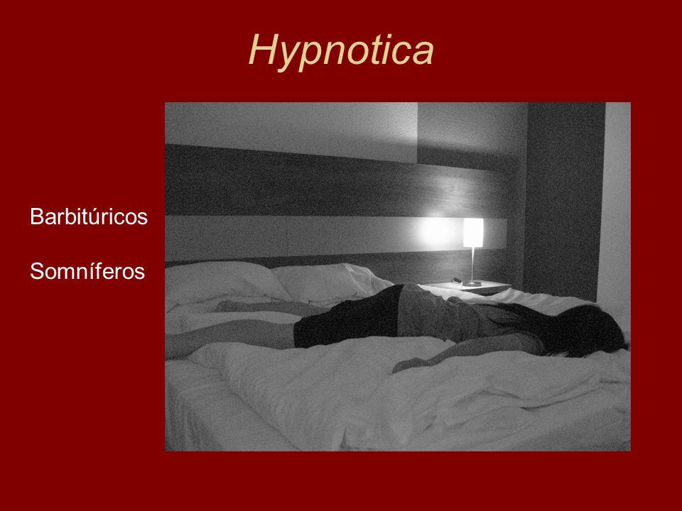 Hypnotica Barbitúricos Somníferos Lewin, 1924
