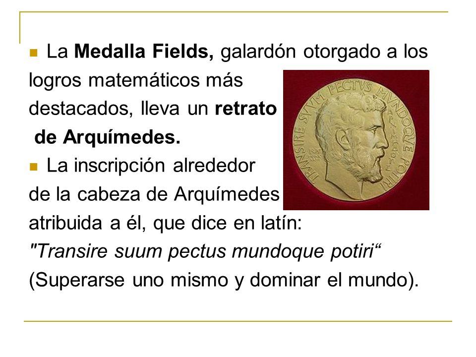 La Medalla Fields, galardón otorgado a los
