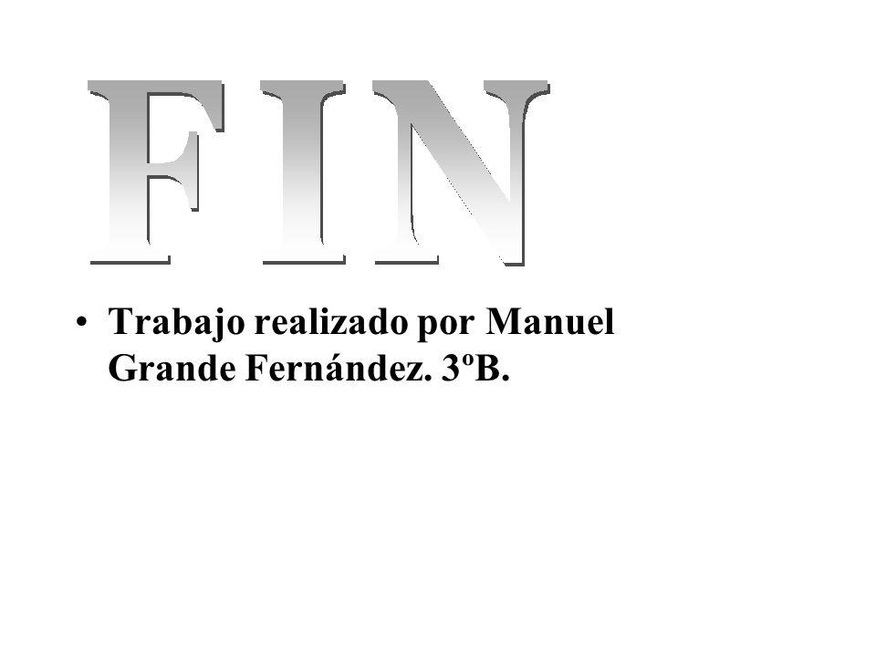 Trabajo realizado por Manuel Grande Fernández. 3ºB.