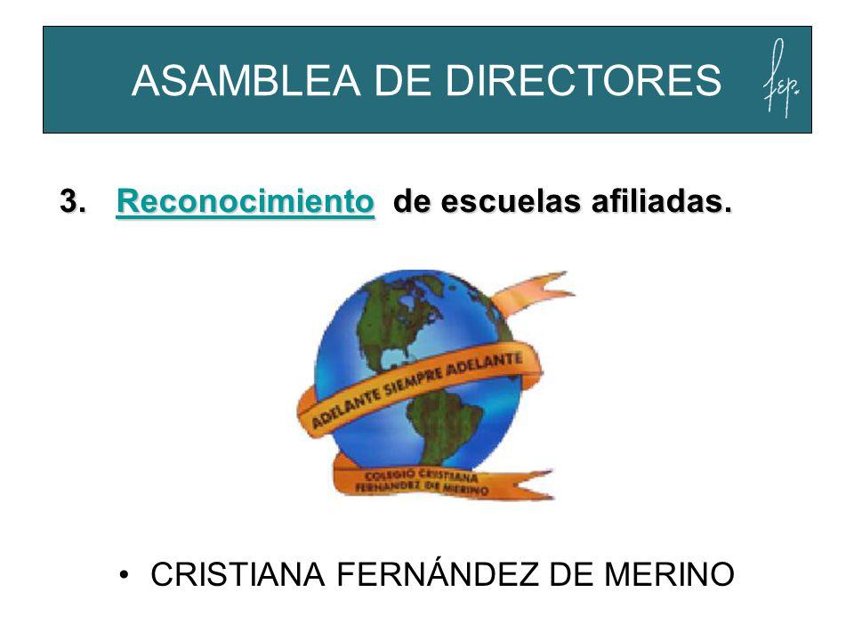 ASAMBLEA DE DIRECTORES
