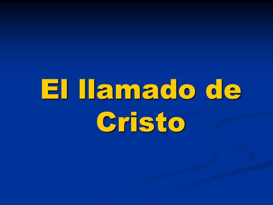 El llamado de Cristo