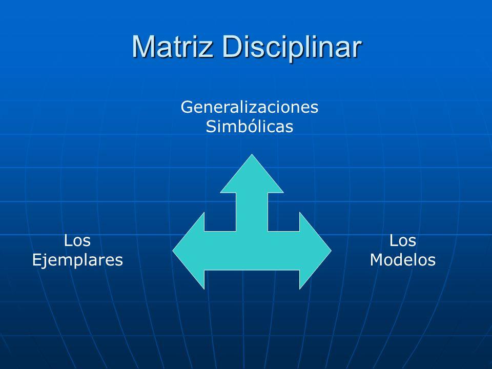 Generalizaciones Simbólicas