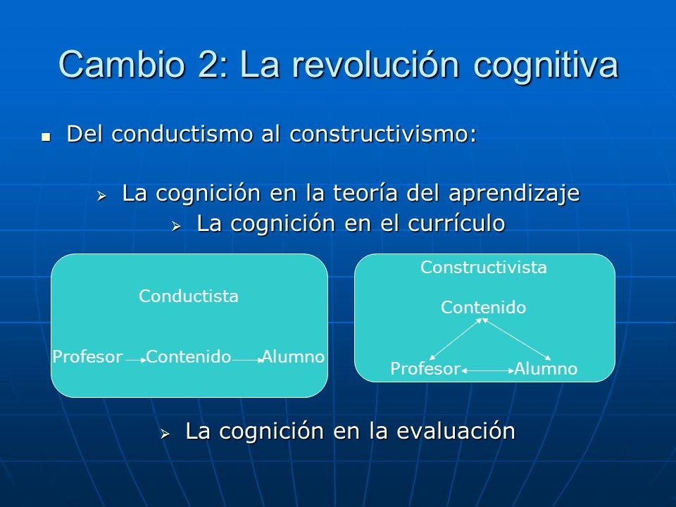 Cambio 2: La revolución cognitiva