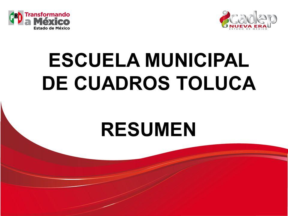 ESCUELA MUNICIPAL DE CUADROS TOLUCA