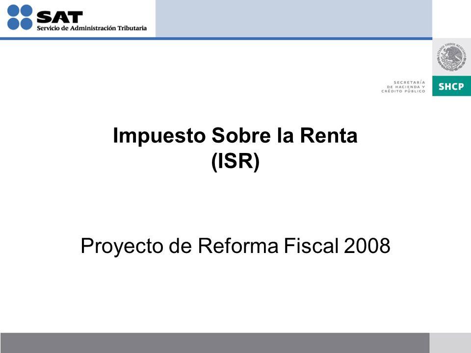 Impuesto Sobre la Renta (ISR)