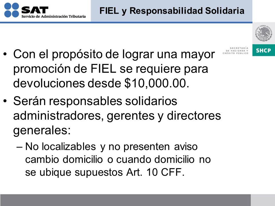 FIEL y Responsabilidad Solidaria