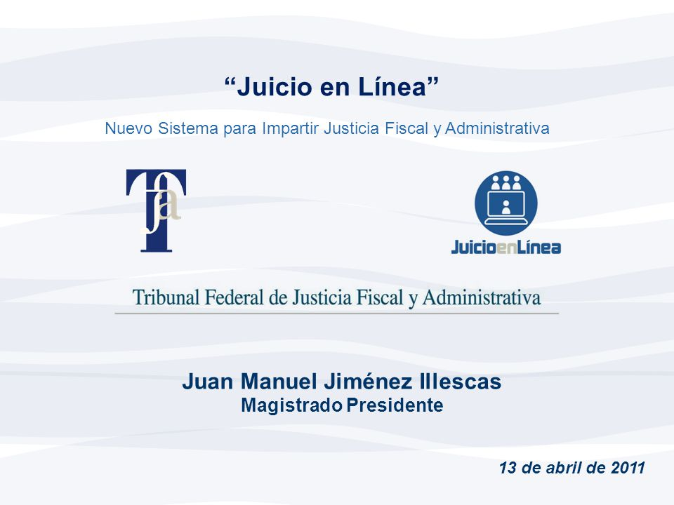 Juan Manuel Jiménez Illescas Magistrado Presidente