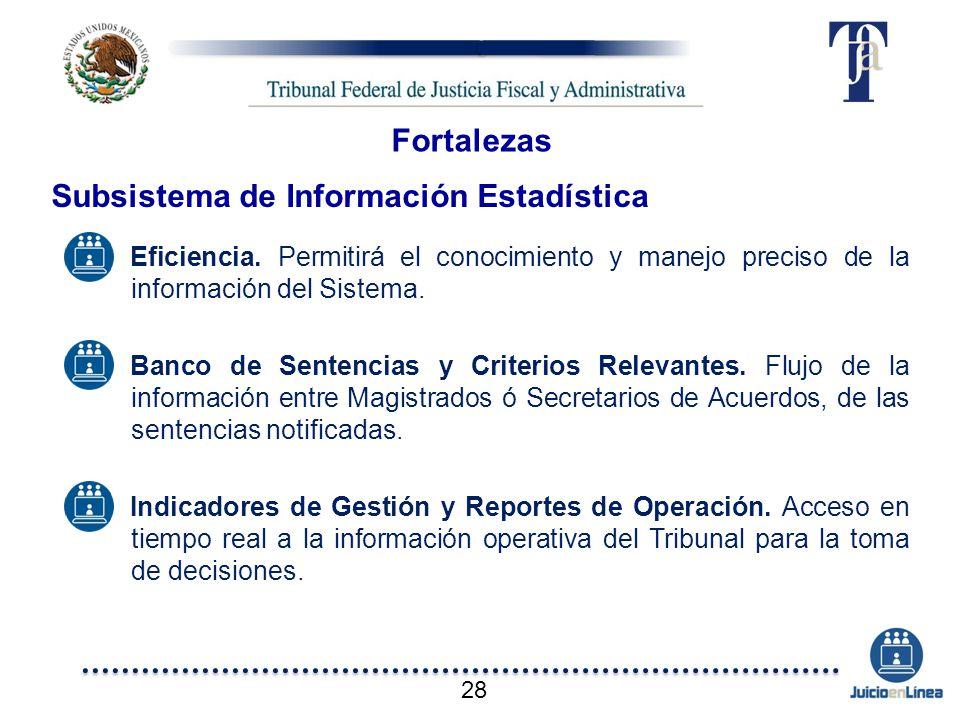 Subsistema de Información Estadística