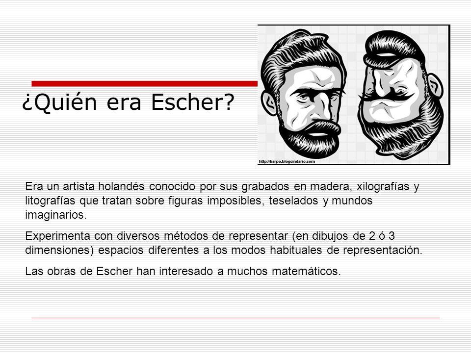 ¿Quién era Escher