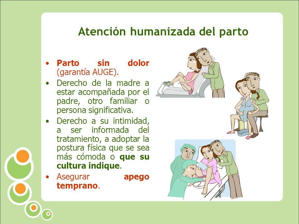 Atención humanizada del parto