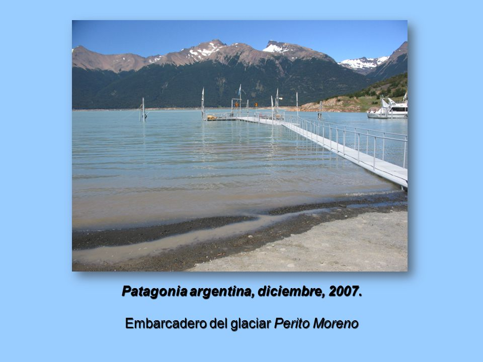 Patagonia argentina, diciembre, 2007.