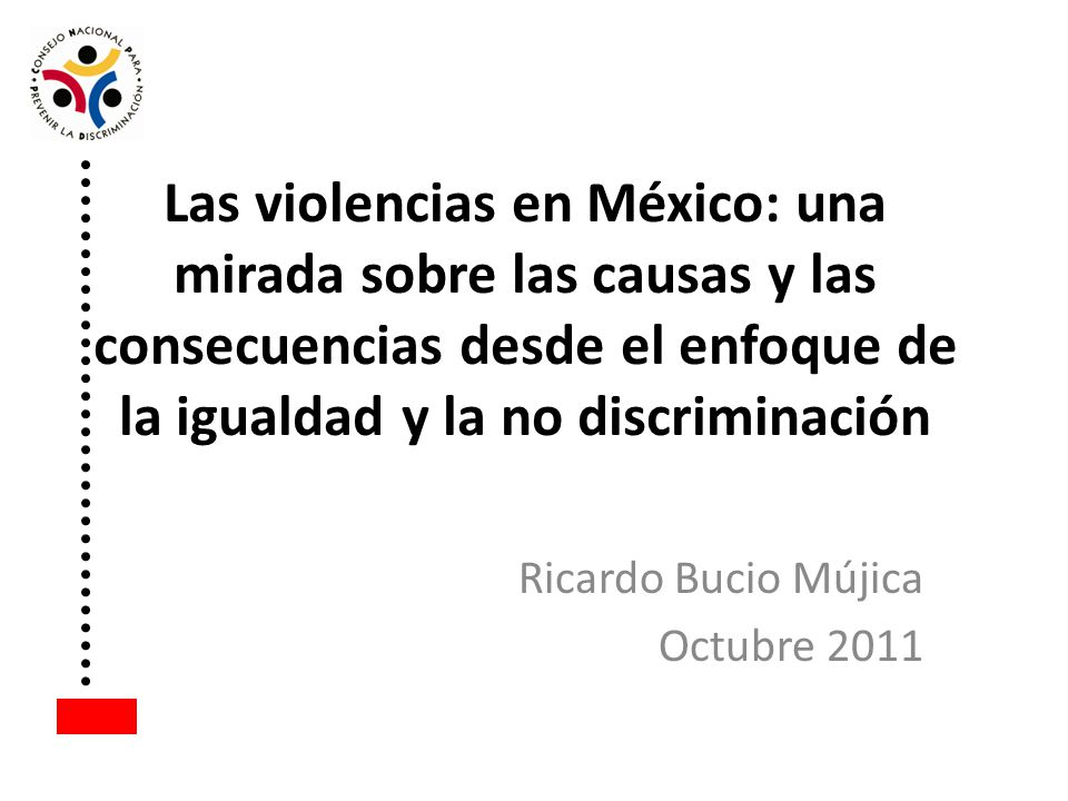 Ricardo Bucio Mújica Octubre 2011