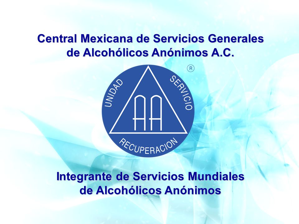 Central Mexicana de Servicios Generales de Alcohólicos Anónimos A.C.