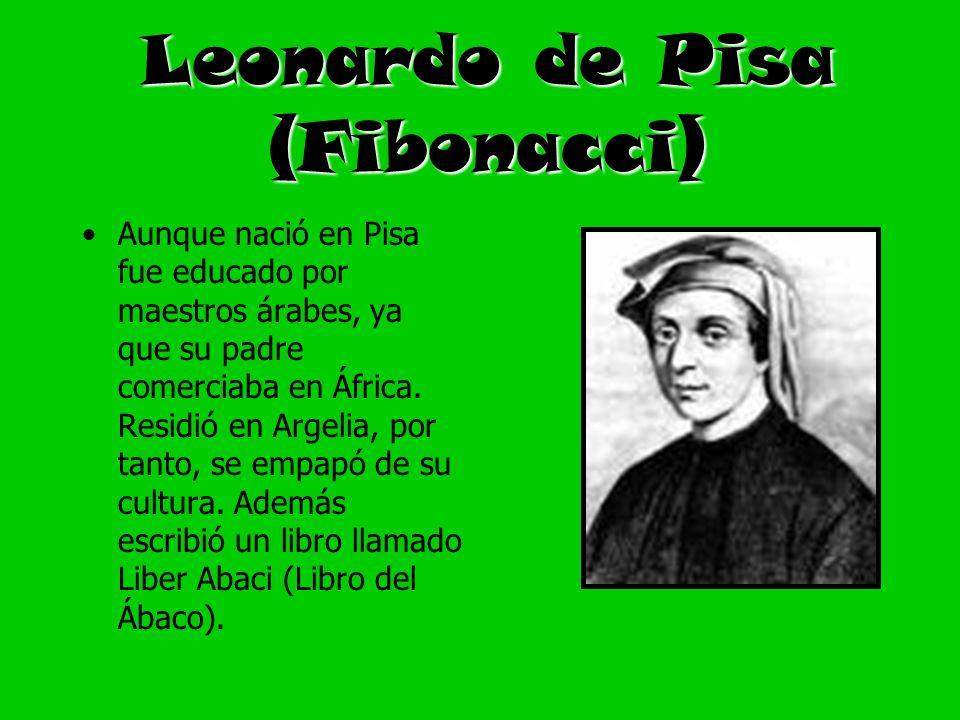 Leonardo de Pisa (Fibonacci)